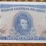 Chile 0,50 escudos 1970-73 anverso