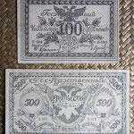 Rusia East Siberia serie rublos 1920 -Chita anversos