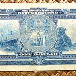 Nueva Escocia -Halifax 10 dólares 1935 reverso