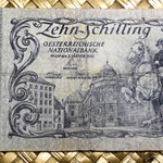 Austria 10 shillings 1950 anverso