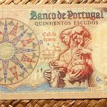 Portugal 500 escudos 1966 reverso