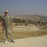 desde la Plaza Oval -Jerash