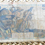 French West Africa 500 francos 1951 reverso