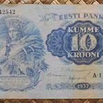 Estonia 5 krooni 1929 (128x70mm) pk.62 anverso