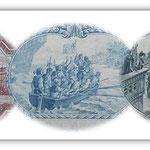 Ecuador serie Sucres 1920 Grabados del Descubrimiento