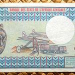 Republica Centroafricana 1000 francos 1979 reverso