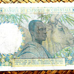French West Africa 25 francos 1952 reverso