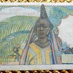 French West Africa 1000 francos 1948 reverso