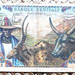 Camerún 500 francos 1962 anverso