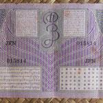 Indias Orientales Holandesas 10 gulden 1946 (148x74mm) pk.90 reverso