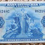 Alemania Ocup. Aliada postWWII  10 marcos 1949