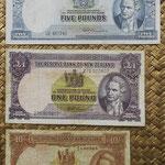 Nueva Zelanda chelines y libras 1940-1967 -James Cook anversos