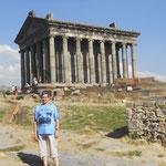 desde el Templo de Garni s.I -Armenia