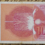 Yugoslavia 1000 dinares 1992 pk.114 reverso