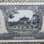 Indochina 100 piastras 1942-45 (174x76mm) pk.73 reverso