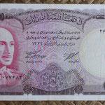 Afganistan 1.000 afganis 1967 (180x90mm) pk.46 anverso