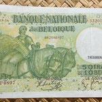 Bélgica 50 francos-10 belgas 1943 anverso