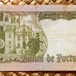 Portugal 20 escudos 1964 reverso