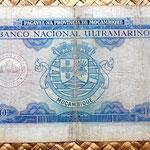 Mozambique colonial 1000 escudos 1953 reverso