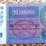 Imperio Austrohúngaro 10 coronas 1915 reverso