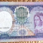 Portugal 1000 escudos 1961 anverso