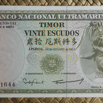 Timor portugués 20 escudos 1967 (136x65mm) pk.26a anverso