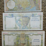 Grecia serie dracmas 1935 Reino Jorge I -BdF reversos