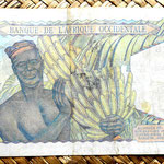 French West Africa 50 francos 1948 reverso