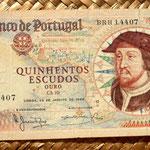 Portugal 500 escudos 1966 anverso