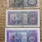 Santo Tomé y Príncipe serie 1958 y resello 1976 -Rey Afonso V reversos