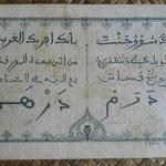 French West Africa -Dakar 5 francos 1929 reverso
