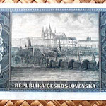Checoslovaquia 100 korun 1945 reverso
