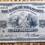 Nueva Escocia -Halifax 10 dólares 1935 anverso