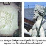 España 500 pesetas 1931 marca de agua