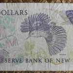 Nueva Zelanda 2 dollars 1985-89 pk.170b reverso
