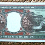 Mauritania 500 ouguiya 1999 reverso
