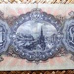 Escocia 1 libra 1939 Edimburgo reverso