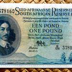 Sudáfrica 1 libra 1951 (150x84mm) anverso