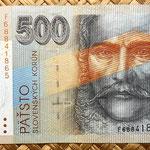 Eslovaquia 500 korun 2000 anverso