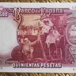 España 500 pesetas 1931 pk.84 reverso