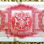 Bermuda 10 shillings 1937 reverso