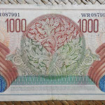 Indonesia 1000 rupias 1952 pk.48 reverso