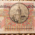 Austria 10 shillings 1946 reverso
