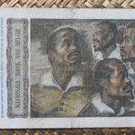Belgica 500 francos 1952 (150x80mm) pk.130 reverso