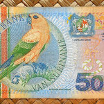 Surinam 5000 gulden 2000 anverso