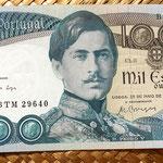 Portugal 1000 escudos 1968 anverso