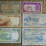 Libano piastras y libras 1948-1964 anversos