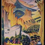 pintura -Armenia del artista Martiros Saryan
