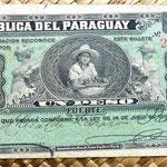 Paraguay 1 peso fuerte 1903 anverso