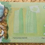Canada 20 dollar 2015 Conmemorativo -A Historic Reign pk.111 reverso